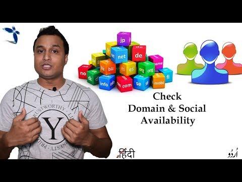 Check Domain & Social Username Availability Across Multiple Networks