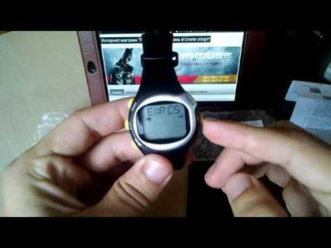 Часы-пульсометр счетчик калорий