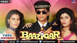 Baazigar Video Jukebox | Shahrukh khan, Kajol, Shilpa Shetty |