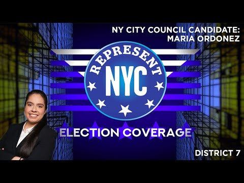 Represent NYC Election Coverage: Maria Ordoñez Candidate Statement