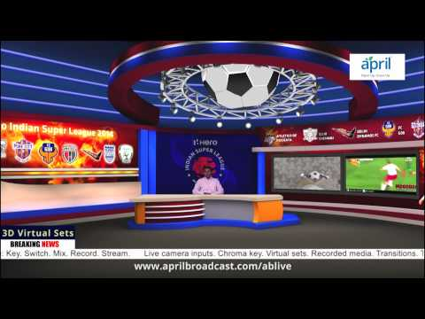 ABLive - With 3D Virtual sets - YouTube