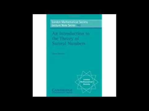 An Introduction to the Theory of Surreal Numbers London Mathematical Society Lecture Note Series