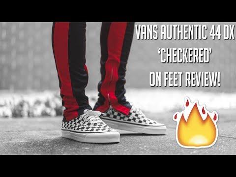 buy \u003e mens checkered vans on feet, Up