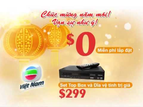 New Year Promotion of TVB Australia for Vietnamese Channel
