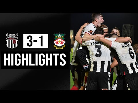 Grimsby Wrexham Goals And Highlights
