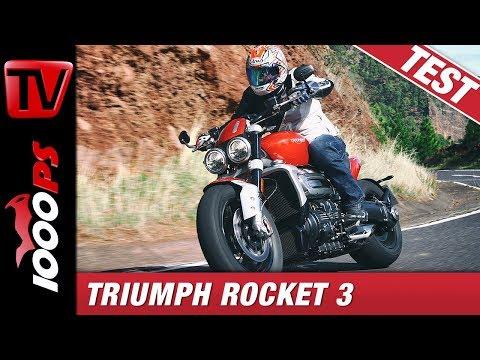 Triumph Rocket 3 2020 Test - Handlicher Koloss mit 221 Newtonmeter