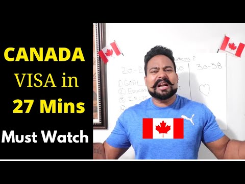 How To Enter Canada (Plan Of Action) Motivational Video  By Canadian Shaan