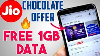 Jio Cadbury Dairy Milk Chocolate Offer | Jio New Data Offe with Free 1 GB Internet