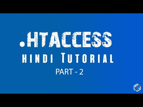 .htaccess Tutorial In Hindi How To Use The .htaccess In Apache Server