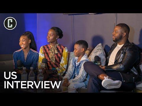 Us Movie Cast Interview Mp3