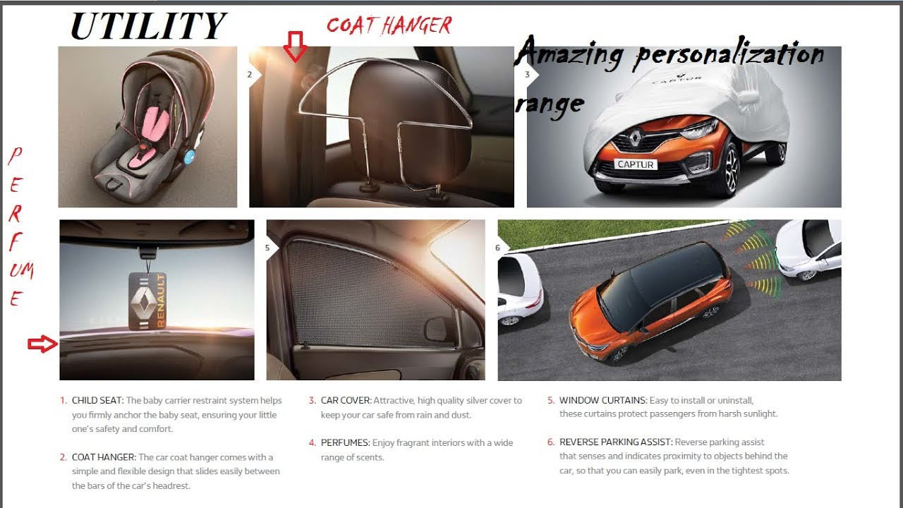 Renault Captur Official Genuine Accessories Class Apart
