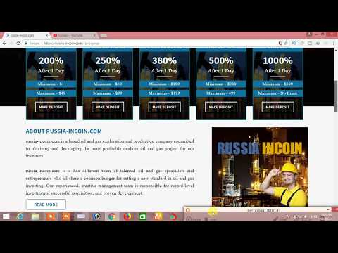 200% 1day High Profit - Oil & Gas company Investment - Legit Paying