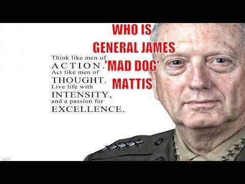 General James 'Mad Dog' Mattis - Trump's Nominee For Sec. Of Defense