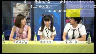 2013/07/25(木)放送 ニコニコ生放送「電波諜報局」 ゲスト:春奈るなさ...