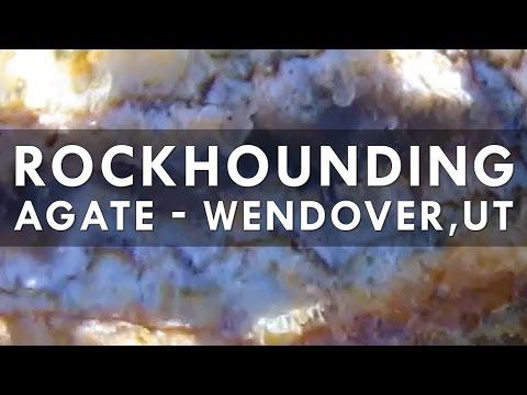 Rock Hounding for Agate /Jasper by Wendover, UT