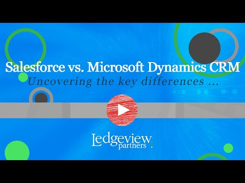Salesforce vs Microsoft Dynamics CRM
