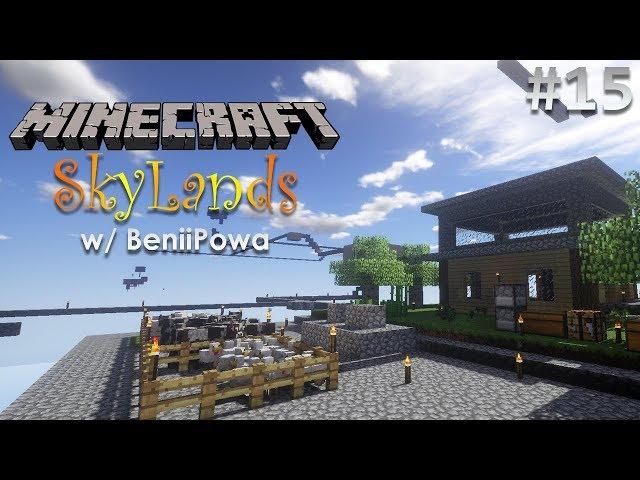 Minecraft: SkyLands w/ BeniiPowa - 15. rész
