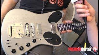 Holy Grail Guitar Show '18  - Deimel Guitarworks Firestar LesLee Custom & Firestar Ellipse Demos