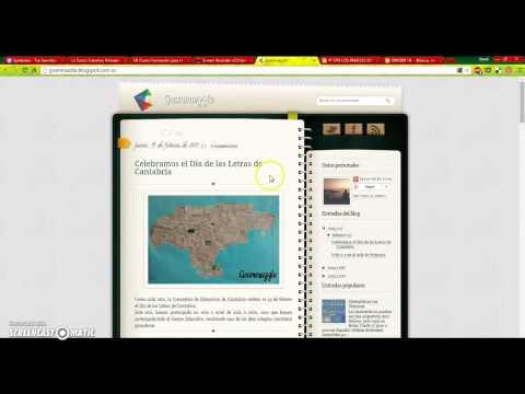 ¿Qué es un Blog de aula o Edublog?