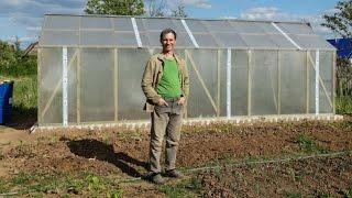 Теплица своими руками из бруса и поликарбоната со съёмной крышей(Это видео о том, как я на садовом участке построил теплицу. Для тех, кто будет комментировать, уточню - Я..., 2016-06-10T07:19:26.000Z)