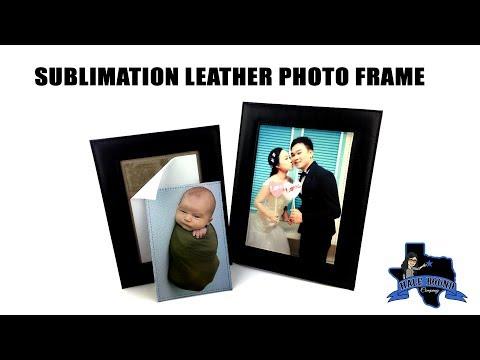 SUBLIMATION LEATHER PHOTO FRAME