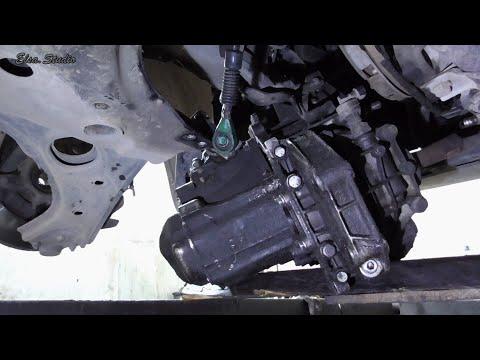 Снятие коробки и разборка сцепления FIAT Doblo 2015