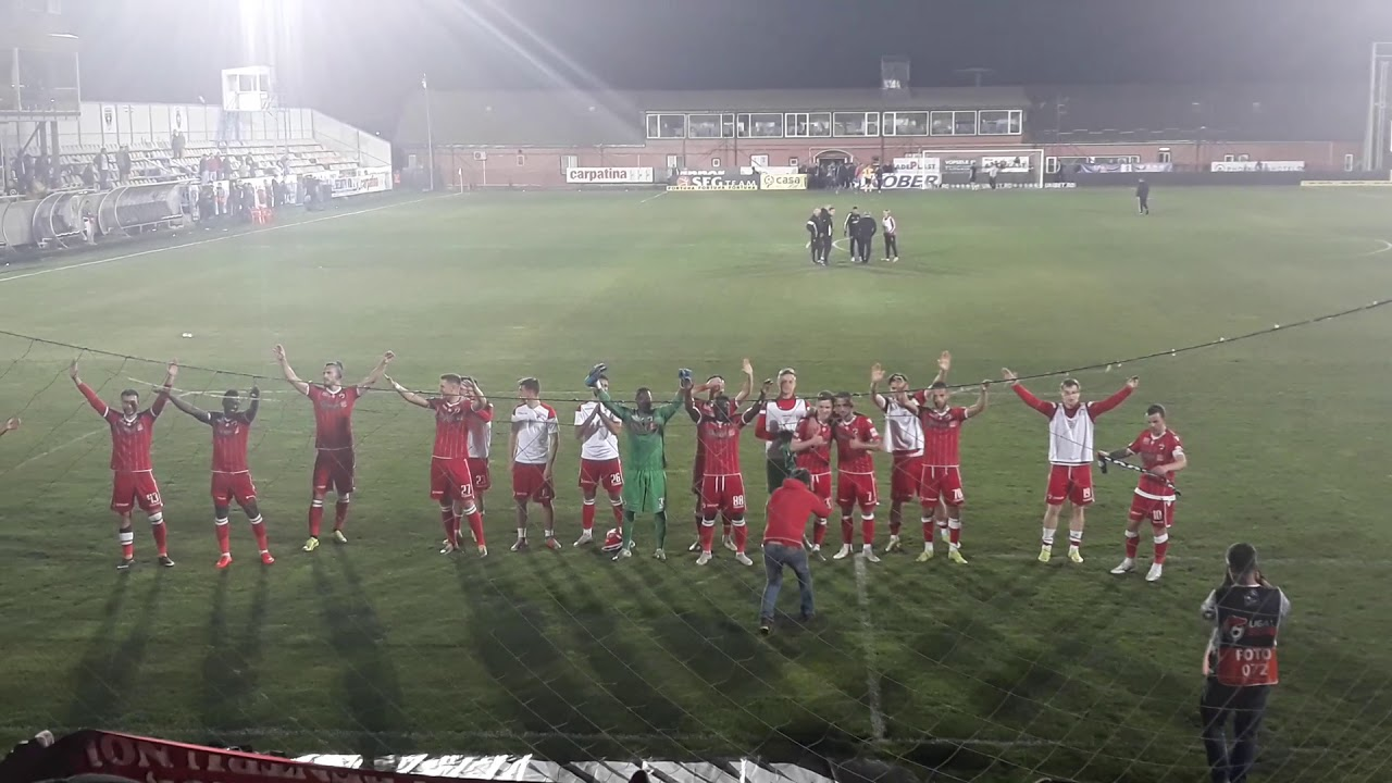 Dinamo, noul lider al Ligii I, după 3-0 cu FC Voluntari  |Dinamo București-voluntari
