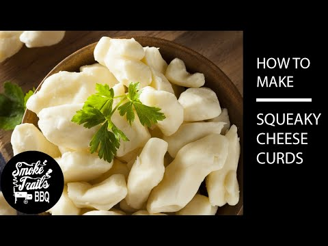 How to make Homemade Cheese Curds for Poutine