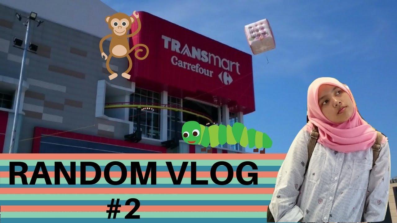 Random Vlog 2 Teriakan Maut Di Transmart Buah Batu Youtube
