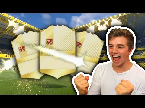 3 LEGENDS IN MY BEST PACK OPENING OF THE YEAR - FIFA 17