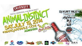 Smirnoff AI5 | The All White Pool/Beach Party | July 19, 2014