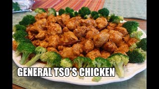 GENERAL TSO'S CHICKEN Stir-Fry Recipe | Wok With Me