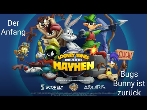 Looney Tunes Die irre Schlacht: Gameplay Android