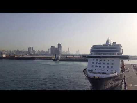 Cruise Ship Port of Abu Dhabi United Arab Emirates