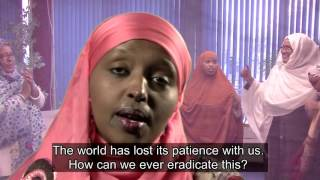 Somali Poem / Spoken Word / Buraanbur  on Female Genital Mutilation - (FGM) with English Subtitles