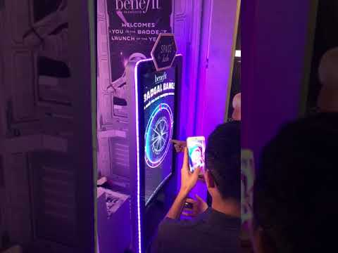 SPIN THE WHEEL,BAD GAL MASCARA LAUNCH SINGAPORE