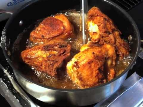 How to Fry Chicken  in Lard OMG