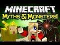 Minecraft MYTHS & MONSTERS MOD Spotlight! - Weird And Wonderful Mobs! (Minecraft Mod Showcase)