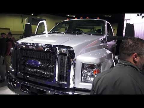 2019 Work Truck Show NTEA, Ford F600 part 5