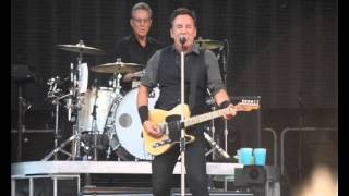 Bruce Springsteen -Badlands - Hampden,Glasgow 18-6-13