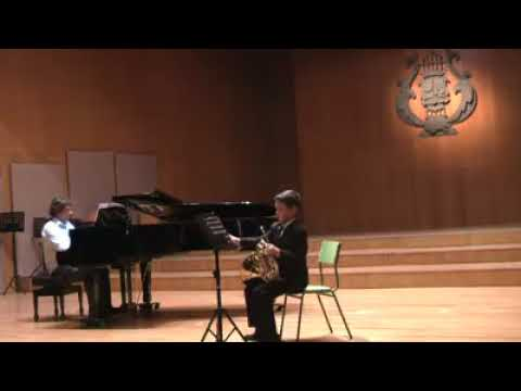 Mozart Horn Konzert kv 447 Allegro,Alexandro Garcia 8 years (años)