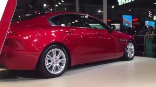 Jaguar XE Walkaround Video at 2016 Auto Expo