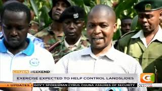 Chamgei FM tree planting drive in Baringo