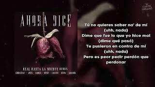 Ahora dice (Remix) - Anuel AA, Ozuna, J Balvin, Arcangel, Cardi B, Offset, Chris Jeday