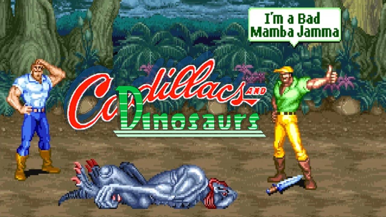 Resultado de imagen para cadillacs and dinosaurs arcade