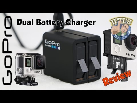 GoPro Dual Battery Charger for Hero 4 Black/Silver : REVIEW
