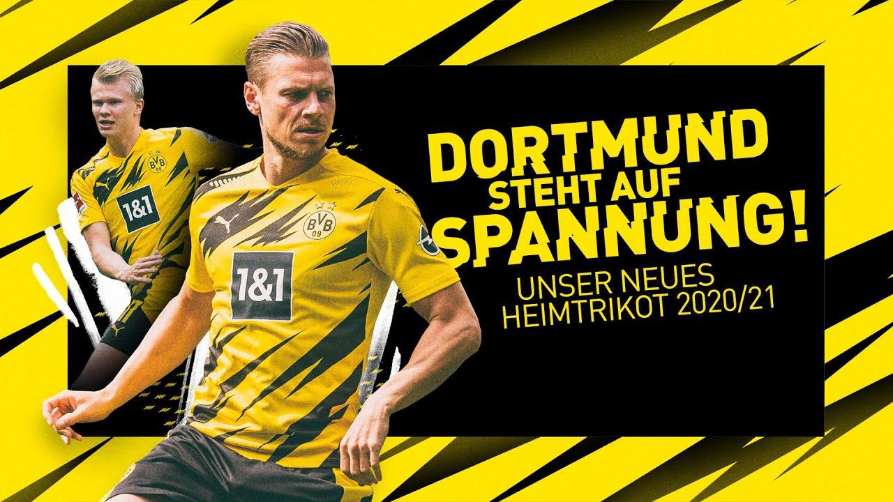 Dortmund steht auf Spannung! | Das Heimtrikot der Saison 2020/21