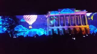 Лазерное шоу в Нижнем Новгороде 12.06.2017г.