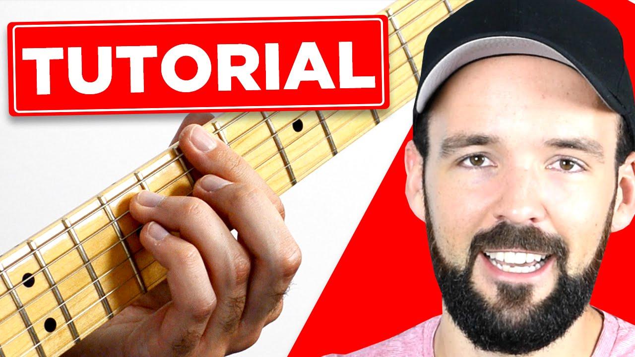 Wheatus Teenage Dirtbag Guitar Lesson Teil 1 Youtube