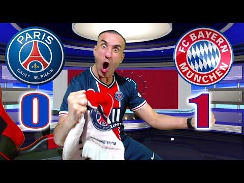 PARIS SG 0-1 BAYERN / ON EST EN DEMI-FINALE!!!!!!